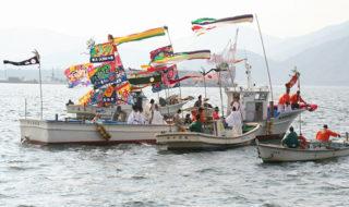 御船遊管絃祭