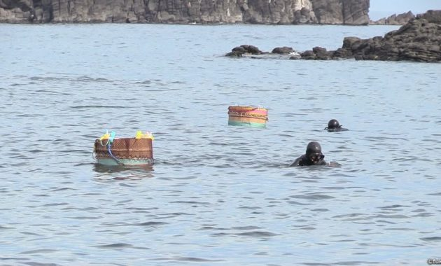 サザエアワビ漁